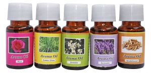 Luxantra Aroma Diffuser Oil Set Of 5pc Of 10ml Each