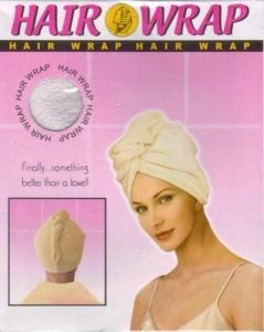 Caps, Hats (Women's) - New Hair Wrap After Head Bath Wrap, Absorbs Water