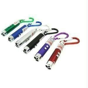 3 In 1 Laser Pointer With 2 LED And Flicker Flashlight Torch