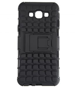 Carry cases and pouches for mobile - PRODUCTMINE Defender Back Cover Case with Kickstand for SAMSUNG Galaxy On7 (Black)