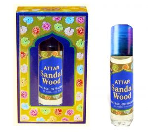 Tausif Collection Of Attar Sandal (wood) Natural Perfumes 8 Ml