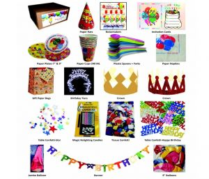 Tausif New Happy Birthday Party Pack