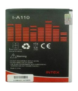 Intex Battery for mobile - Intex Battery - I-A110 Battery For Micromax (2000 Mah)