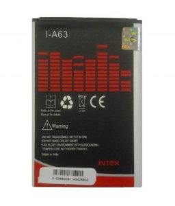 Intex Battery - I-a63 Battery For Micromax (1500 Mah)
