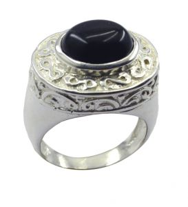 Riyo Gemstone Alloy Silver Engineered Ring Aspr80-0024