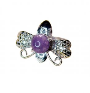 Riyo Gemstone Alloy Silver Fine Ring Aspr80-0054