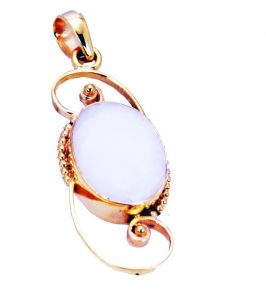 Riyo Agate 18-kt Gold Plated Symbolic Pendants L 1.5in Gppage-0002)