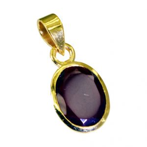Riyo Ruby Cz Gold Plated Sets By The Yard Pendant L 1in Gpprucz-104013)