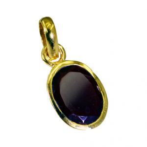 Riyo Ruby Cz Gold Plated Wholesale Bypass Pendants L 1in Gpprucz-104014)