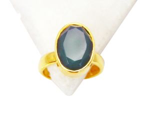 Riyo Green Onyx Jewellery Gold Plated Cocktail Ring Sz 6 Gprgon6-30021