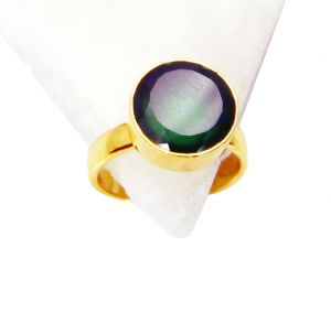 Riyo Green Onyx 18kt Y Gold Fashion Cameo Ring Sz 8 Gprgon8-30049