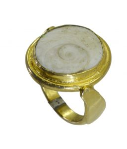 Riyo Jasper 18kt Gold Plated Gorgeous Ring Gprjas70-40020