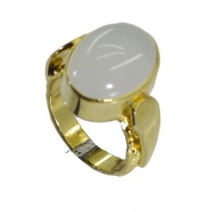 Riyo Jasper 18kt Gold Plated Graceful Ring Gprjas70-40021