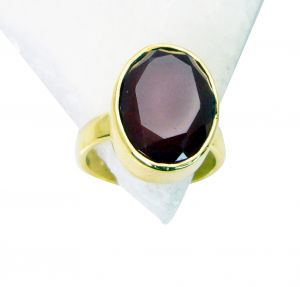 Riyo Red Onyx Indian Gold Plate Promise Ring Sz 6 Gprron6-66008