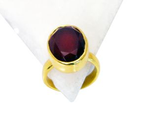 Riyo Red Onyx Plated Gold Jewelry Toe Ring Jewelry Sz 6 Gprron6-66011