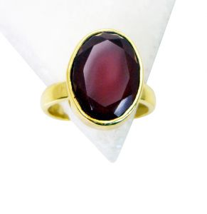 Riyo Red Onyx Wholesale Gold Plate Friendship Ring Sz 8 Gprron8-66027