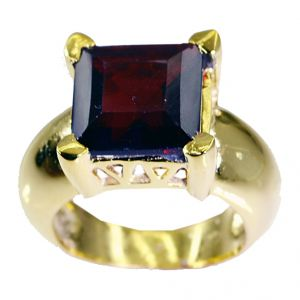 Riyo Ruby Cz 18c Y Gold Plated Purity Ring Jewelry Sz 6.5 Gprrucz6.5-104027