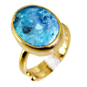 Riyo Turquoise Buy Gold Plated Jewelry Classic Day Rings Sz 5 Gprtur5-82008