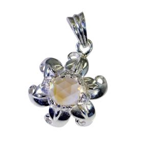 Riyo Citrine Best Silver Jewelry Cross Pendants _length 1 Inches (product Code - Spcit-14037)