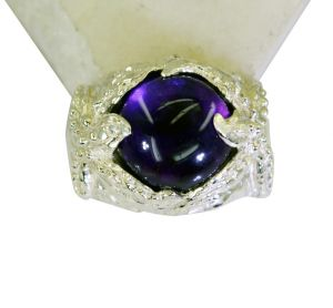 Riyo Amethyst Wholesale Jewelry Silver 925 Wholesale Silver Ring Sz 6 Srame6-2082
