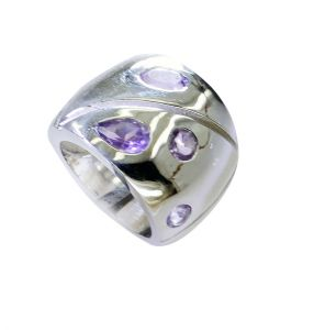 Riyo Amethyst Cheap 925 Silver Jewelry Wedding Ring Jewelry Sz 7 Srame7-2150