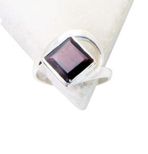Riyo Red Garnet 925 Solid Sterling Silver Sale Priced Ring Srgar55-26266