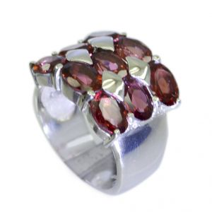 Riyo Garnet Unique Silver Jewellery Silver Toe Ring Jewelry Sz 7 Srgar7-26052