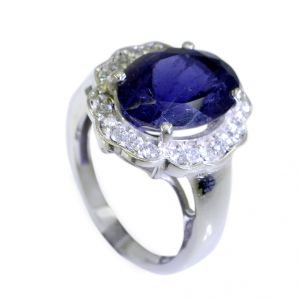 Riyo Iolite Recycled Silver Jewelry Nice Ring Sz 7 Sriol7-38022