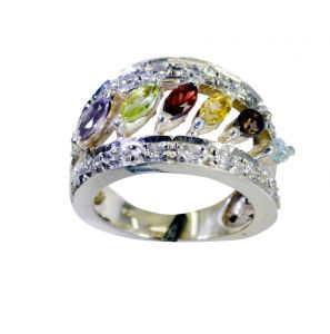 Riyo Gemstone Silver Jewellery Sale Silver Ring Sets Sz 8.5 Srmul8.5-52055