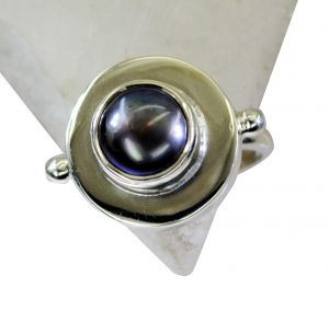 Riyo Pearl Silver Jewellery Supplier Silver Spiral Ring Sz 8 Srpea8-56010