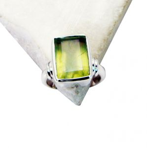 Riyo Prehnite Silver Jewelry Settings Nice Ring Sz 7 Srpre7-60004