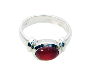 Riyo Red Onyx Silver Jewelry Wholesalers Guard Ring Sz 5 Srron5-66001
