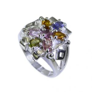 Riyo Tourmaline Wholesale Silver Gemstone Silver Ring For Women Sz 6 Srtou6-84022