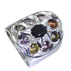 Riyo Tourmaline Wholesale Silver Jewellery Silver Ring Sz 6 Srtou6-84023