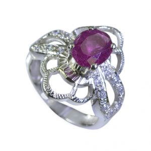 Riyo Tourmaline Wholesale Silver Supplies Silver Ring Settings Sz 6 Srtou6-84028