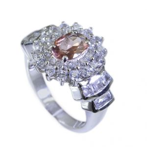 Riyo Tourmaline Wholesale Silver Uk Silver Ring Settings Sz 6 Srtou6-84029