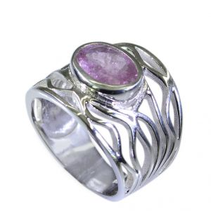 Riyo Tourmaline Beautiful Silver Jewellery Aqiq Ring Sz 7 Srtou7-84066