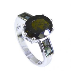 Riyo Tourmaline Best Silver Jewellery Friendship Ring Sz 7 Srtou7-84068