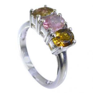 Riyo Tourmaline Custom Silver Jewellery Regards Ring Jewelry Sz 7 Srtou7-84109