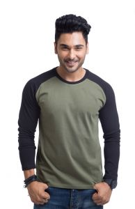 "Cult Fiction Cotton Black Solid Men""s Round Neck T-shirt-(code-cfm03bl378)"