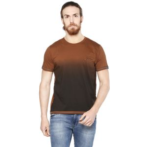 Cult Fiction Neo Brown Color Round Neck Short Sleeve Men