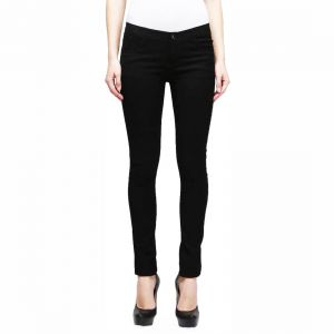 Masterly Weft High Class Black Jeans For Women