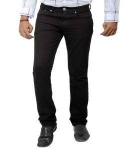 Jeans (Men's) - Masterly Weft Trendy Black Jeans_d-jen--1a