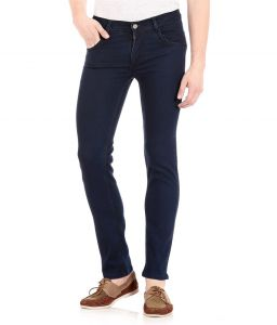 Masterly Weft Trendy Dark Blue Jeans