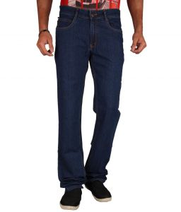 "Masterly Weft Blue Cotton Blend Regular Men""s Jeans (product Code - D-jen--2d)"