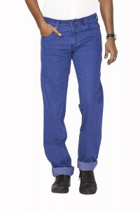 "Masterly Weft Blue Cotton Blend Regular Men""s Jeans (product Code - D-jen--3)"