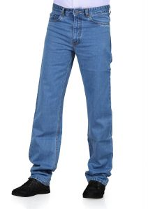 Jeans (Men's) - Masterly Weft Trendy Blue Jeans_d-jen--3a