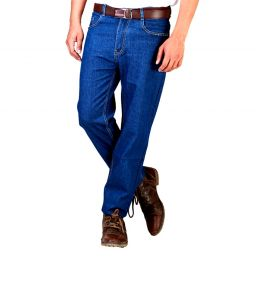 "Masterly Weft Blue Cotton Blend Regular Men""s Jeans (product Code - D-jen--4i)"
