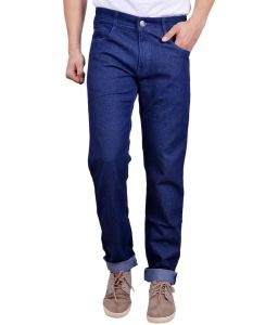 Masterly Weft Trendy Blue Jeans
