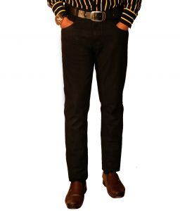 Masterly Weft Mens Cotton Regular Non-stretch Black Jeans - (product Code - D-jen1-1)
